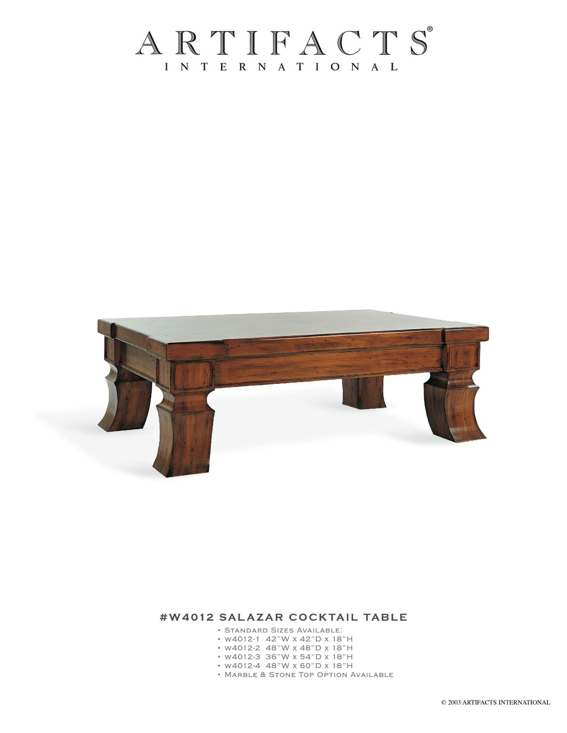 #W4038 Montauk Cocktail Table